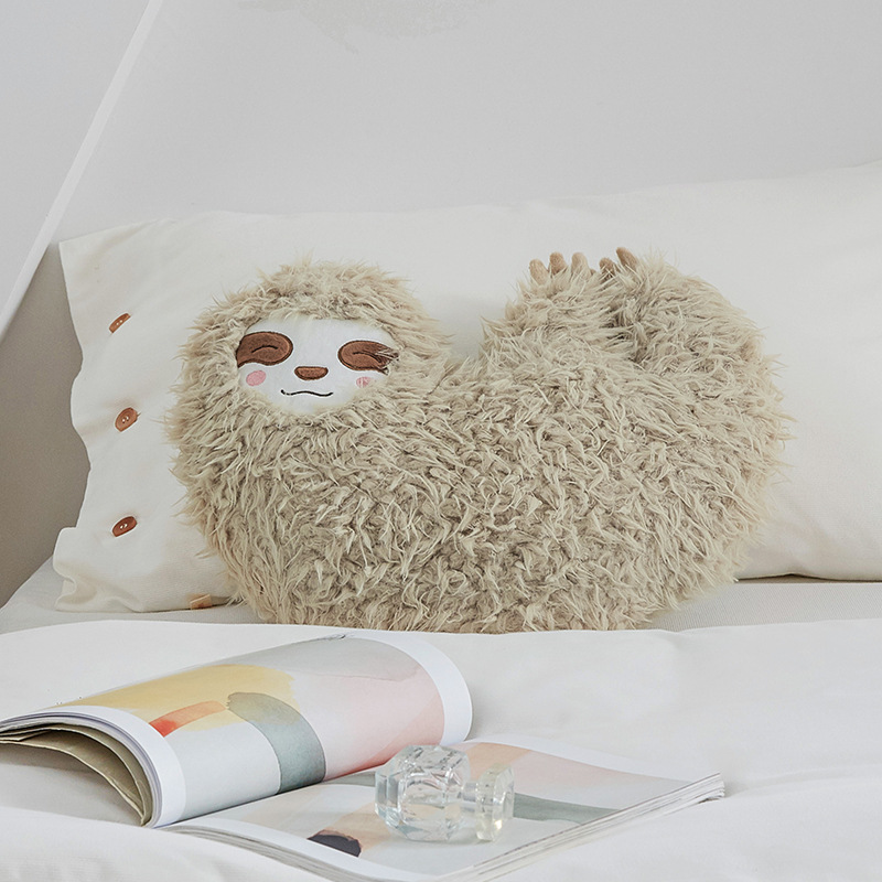 2019 Creative Tree Lazy Plush Toy Solid Color Pillow Simulation Animal Cushion Sofa Girlfriend Boyfriend Boyfriend Birthday Gift in Stuffed Plush Animals from Toys Hobbies