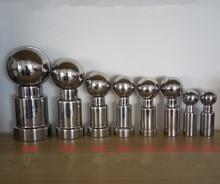 "3/8 ""/1/2/3/4 ""/1""/2 Innengewinde CIP Tank Reinigung Rotary Spray Ball SS 304"