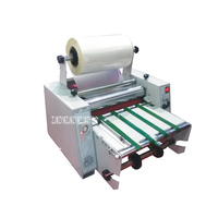 ZXEL 380P Electric double sided laminating Auto Feeding Roll Laminator Speed Adjust Cold Laminating Machine For Economic office