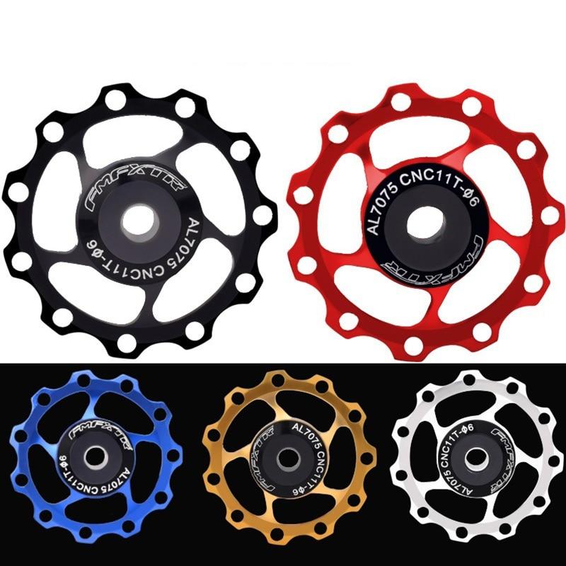 RED Bike Jockey Wheel 13T Bicycle Rear Derailleur Pulley Guide For SHIMANO SRAM
