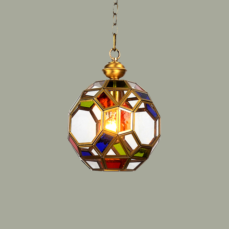 Hilton, American single head small Pendant Lights porch lamp aisle ...
