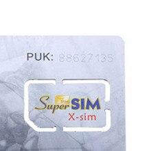 Высокое качество 16 в 1 Макс Сим карта сотовый телефон супер карта резервный сотовый телефон аксессуар