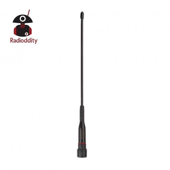 Radioddity RD-331 High Gain Dual Band Handheld Antenna SMA Male For Wouxun TYT YAESU GD-77 Walkie Talkie VHF UHF Two Way Radio