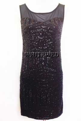 493eef93b4 US $27.99 |Affordable 1920s Art Deco Sequin Metallic Tank Mini Bodycon  Modern Cocktail Party Flapper Dress Costume Style Vintage under $50-in  Latin ...
