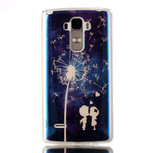 Soft Blue Ray Allochrous TPU Gel Cover Case Skin For LG G4 Note G Stylo G4 Stylus LS770