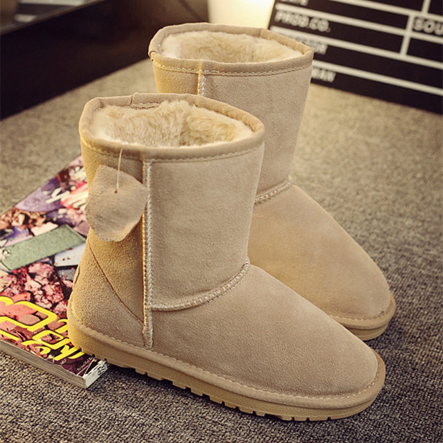 2017 Sales Of The Most Popular Hot Winter Boots Women Ug Australia Boots Women Slip Warm Women's Boots in The Snow Size 34-44
