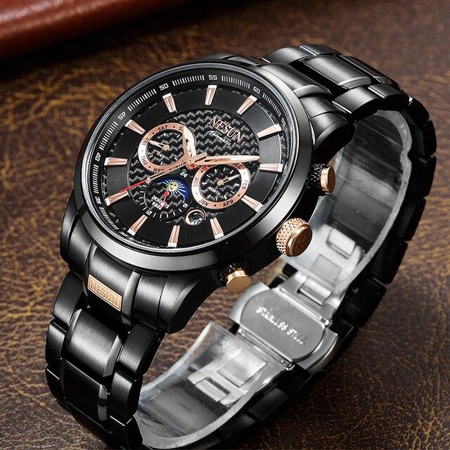 Swiss Luxury Brand NESUN Watch Multifunctional Display Automatic Self-Wind Watch 2