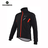 ROCKBROS Cycling Jacket Mountain Bike Windproof Jacket Bicycle Clothing Men Cycling Jersey Jacket Coats Motocross Jersey