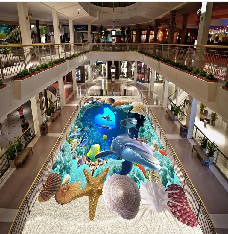 ФОТО 3D wallpaper floor 3D wall murals wallpaper floor  Photo wallpaper mural floor Home Decoration