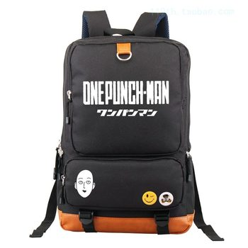 Anime ONE PUNCH-MAN Cosplay Male and female students backpack bag computer bag backpack birthday gift
