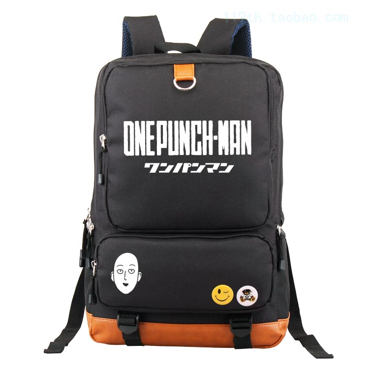 Anime ONE PUNCH-MAN Cosplay Male and female students backpack bag computer bag backpack birthday gift anime tokyo ghoul cosplay male and female students bag korean couples anime leisure pu leather backpack child birthday gift page 1 href