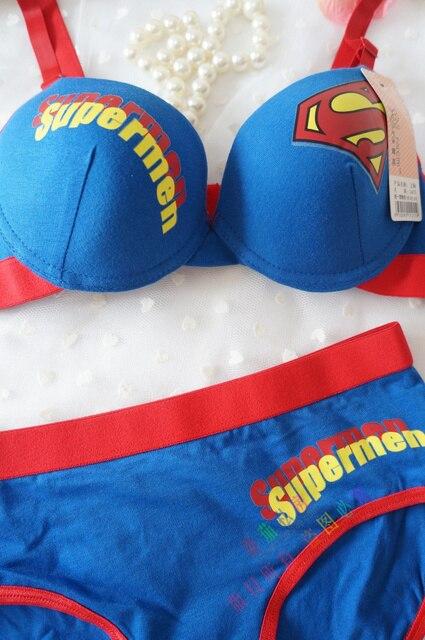 cô gái trẻ ofdynamism siêu nhân siêu người đàn ông 100% bông 100% bộ