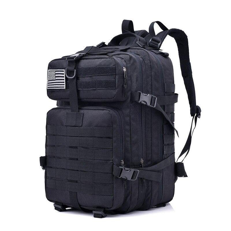 40L Sports de plein air Camping tactique sac à dos militaire 3 P assaut MOLLE Bug Out petit sac à dos chasse Combat voyage escalade