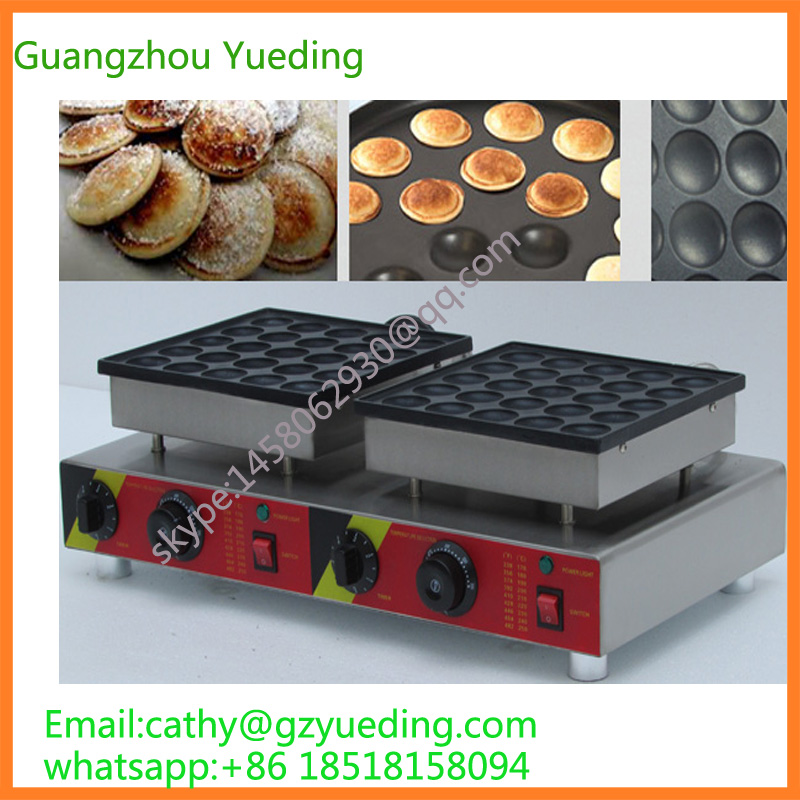 Electric 50 holes commercial pancake maker waffle making machine poffertjes machine pancake machineElectric 50 holes commercial pancake maker waffle making machine poffertjes machine pancake machine