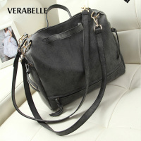VERABELLE 2017 Women Casual Nubuck PU Leather Vintage Purses And Handbags Pillow Messenger Hobos Shoulder Crossbody