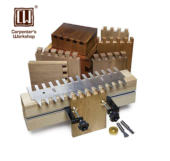 15,16 Dovetail template with 1/4 Shank Dovetail Bit & Guide Bushing
