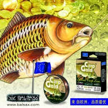 Balsax Gold Carp branded fishing line/braid, 10lb-48lb super power sinking line for Freshwater & Saltwater; Free Shipping
