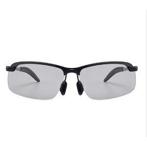 Image 3 - カメレオンサングラス女性太陽紫外線変色レンズメガネサングラス車駆動フォトクロミック男性の偏光サングラス