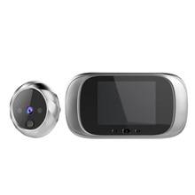 Schermo LCD a colori da 2.8 pollici campanello digitale campanello per porta a 90 gradi campanello elettronico per spioncino per porta spioncino campanello per porta esterno