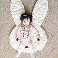 Cubierta Manta Alfombra de Juegos de bebé Conejo Niño de Los Cabritos Niños Niñas Juguete de Desarrollo Alfombra tapis lapin coelho manta conejo Cojín