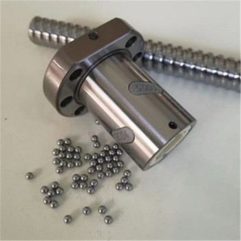 1pcs RM6310 SFU6310-4 ballscrew nut length single nut match use 6310 nut housing bracket CNC DIY Carving machine parts