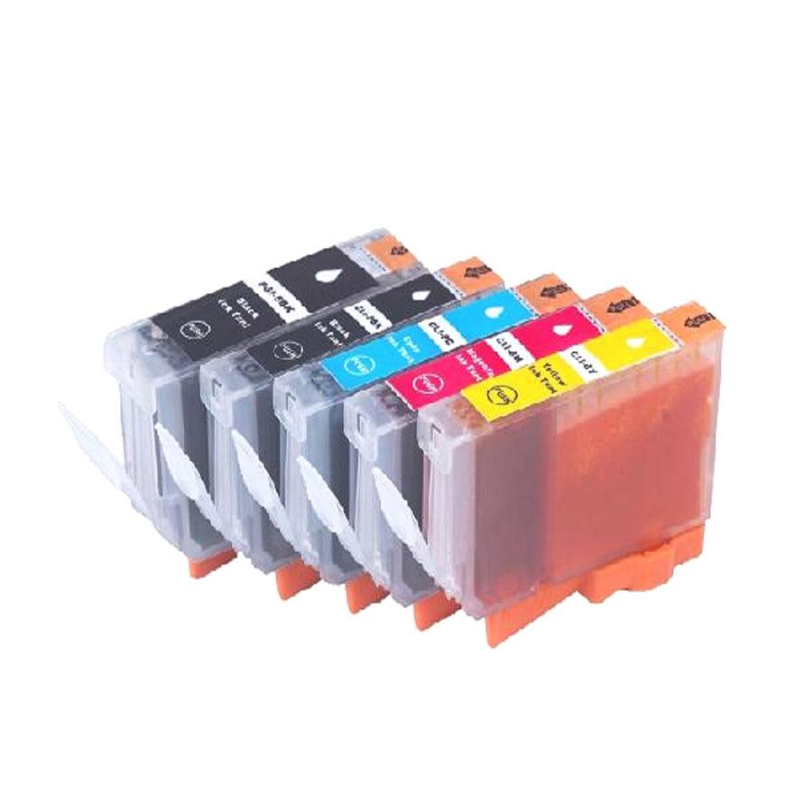 Ühilduv tindikassett Canon PGI 5 CLI 8 jaoks PGI5 tindikassett Canon iP4200 iP4300 iP4500 MP530 MP600 MP610 MP800 MX850 jaoks