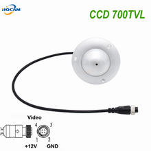 HQCAM 700TVL Aviation Connector Mini UFO Camera Indoor Elevator Lift Security CCTV Camera Aviation SONY CCD Effio-e 4140+673672