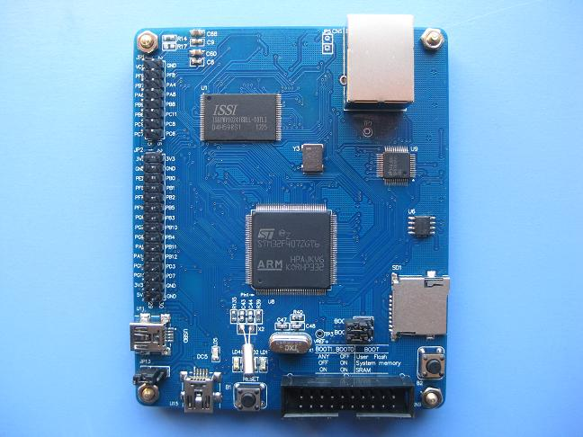Free Shipping  STM32F407ZGT6 Development Board/core Board (100m Ethernet 2m SRAM, 16 M NOR FLASH