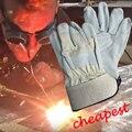 NMSAFETY 2 Pairs безопасности сварочные перчатки теплоизоляция перчатки теплые перчатки сварки