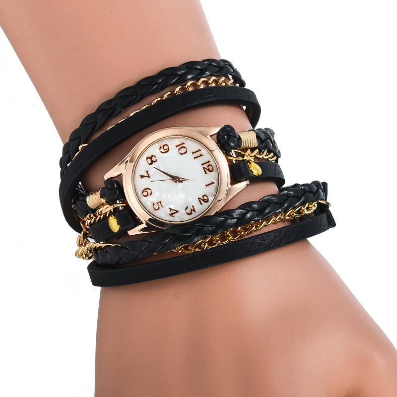 5d394b06b New Arrival Braided Rope Chain Bracelet Quartz Watch Women Fashion Relogio  Feminino As Gift Dress Watches Relogio Feminino-in Women s Watches from  Watches ...