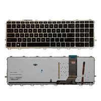 US Laptop keyboards for HP envy 15 J 15T J 15Z J 15 J000 15t j000 15z j000 15 j151sr English silver frame backlight keyboard