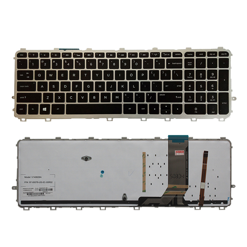 New FOR HP Envy 15-J 15-J000 15T-J000 15T-J100 15Z-J000 15Z-J100 Keyboard US