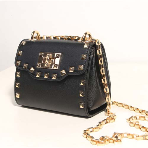 Aliexpress.com : Buy Classic Lock sling Bag woman handbags Studded ...