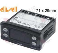 Termómetro ELIWELL tipo EMPLUS 600 medidas de montaje 71x29mm 230V voltaje AC|Piezas de la máquina de café| |  -