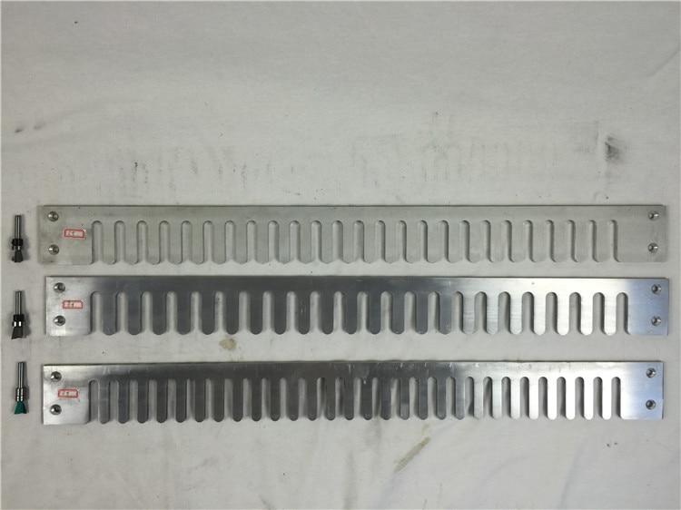 3 Aluminium Jig Template & 3 Bit Cutter For 24 Inch Wood Dovetail Jig Jointer