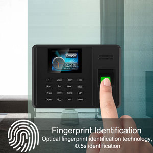 Image 3 - Eseye Attendance System Fingerprint TCPIP USB Password Office Time Clock Employee Recorder Device Biometric Time Attendance