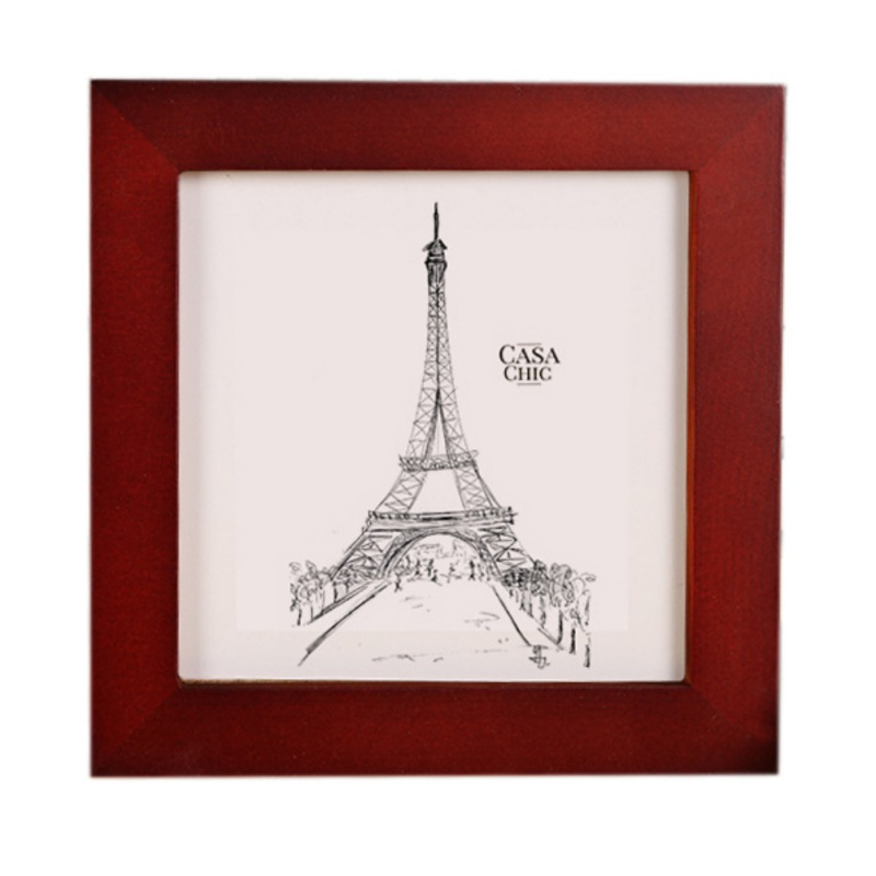 10 Inch Square Picture Frame Wood Photo Pictures Display Frames