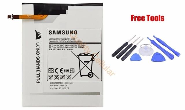 Original Samsung Galaxy Tab 4 SM-T230NU 7.0 SM-T230 SM-T231 SM-T235 battery EB-BT230FBU 4000mAh + Free Tools