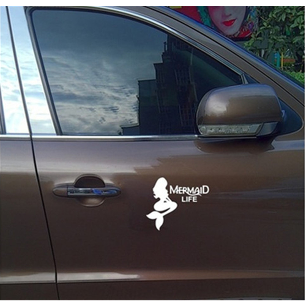 Mermaid Life Decal Sticker Ariel The Little Mermaid for Car Truck Laptop Tablet