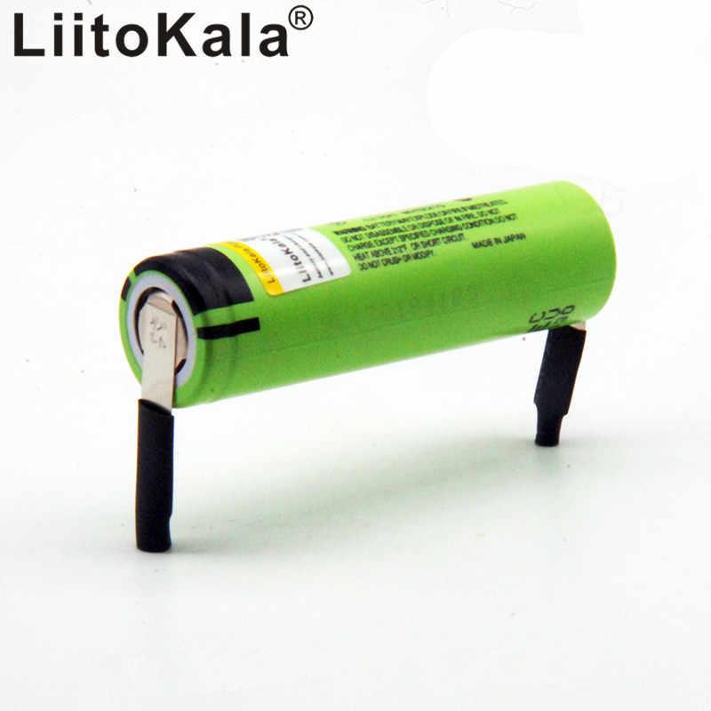 8 Chiếc LiitoKala 100% Mới Ban Đầu NCR18650B 3.7 V 3400 MAh 18650 Pin Sạc Lithium Hàn Niken Tấm Pin