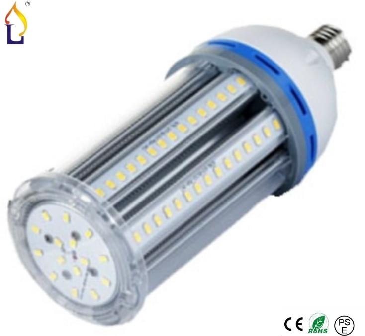 ФОТО Free Shipping (20pcs/lot) New Design Led Corn Bulb Lamp 36W SMD2835 E27 E40 E39 Base Warn/Natural/cool white Energy Saving Light
