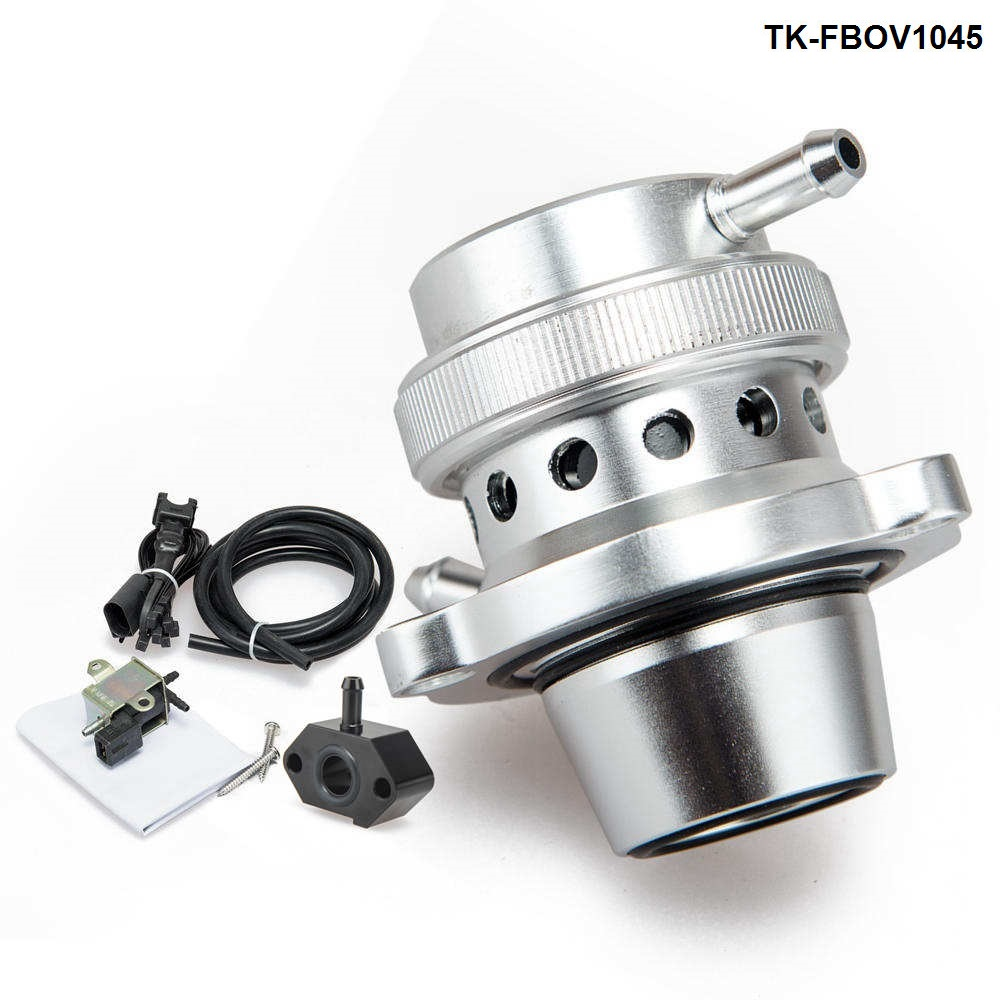 Blow Off Valve kit for three generations of EA111 engine turbo vacuum adapter For VW Golf MK6 MK5 ,For Polo 1.4T TK FBOV1045-in Valve Train from Automobiles & Motorcycles    1