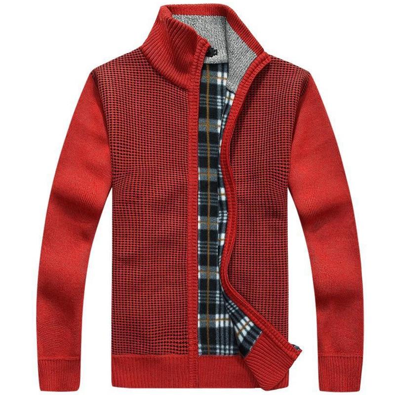 font b Men b font Warm font b Sweaters b font Thick Cardigans Winter Spring