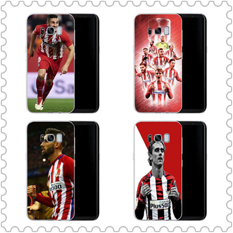 The Atletico Madrid Hard PC Phone Case Cover For Samsung Galaxy A3 A5 A7 J1 J2 J3 J5 J7 2015 2016 2017 back coque capa