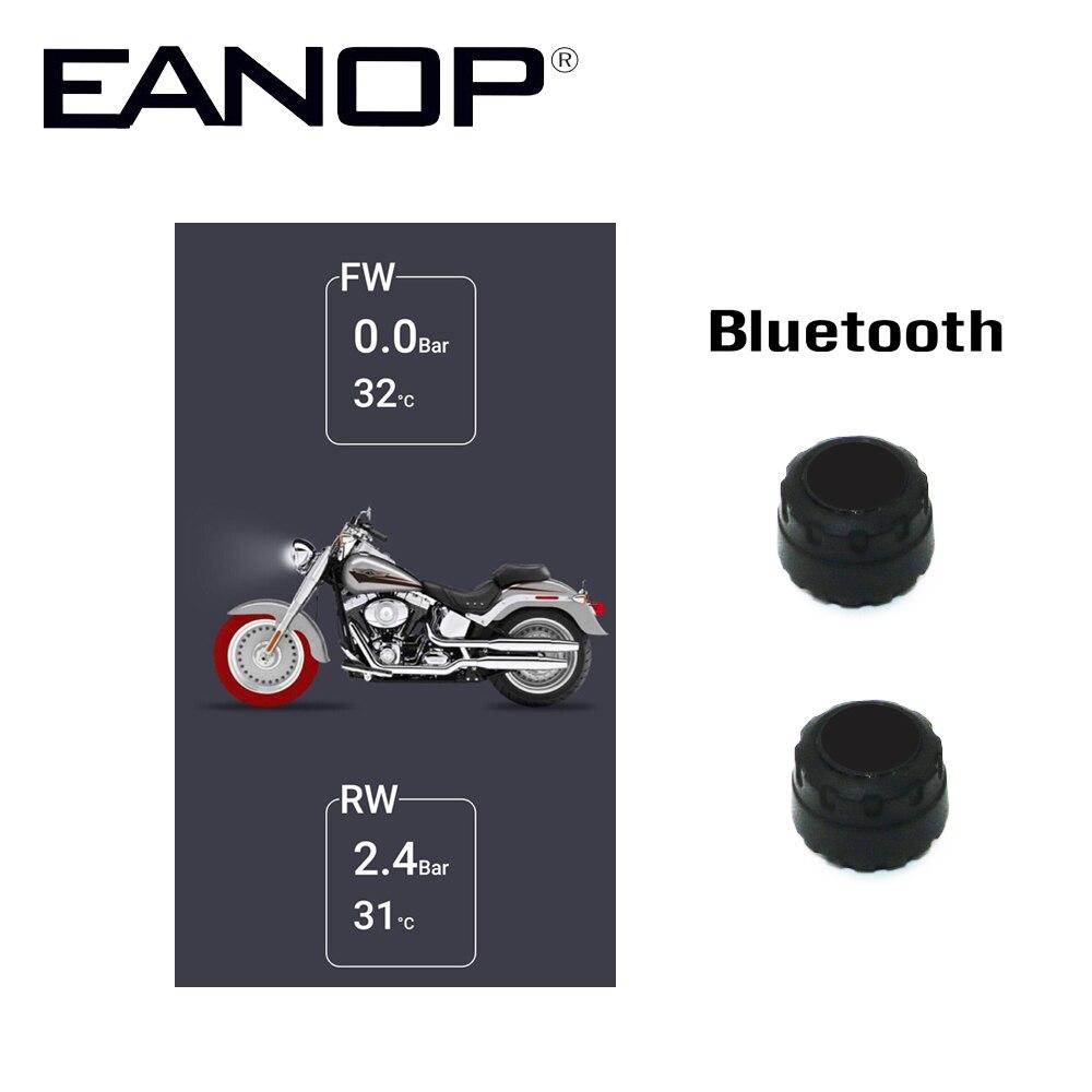 EANOP Sans Fil Moto TPMS capteur de pression de pneu de Pression des Pneus moniteur système Pour Magicar