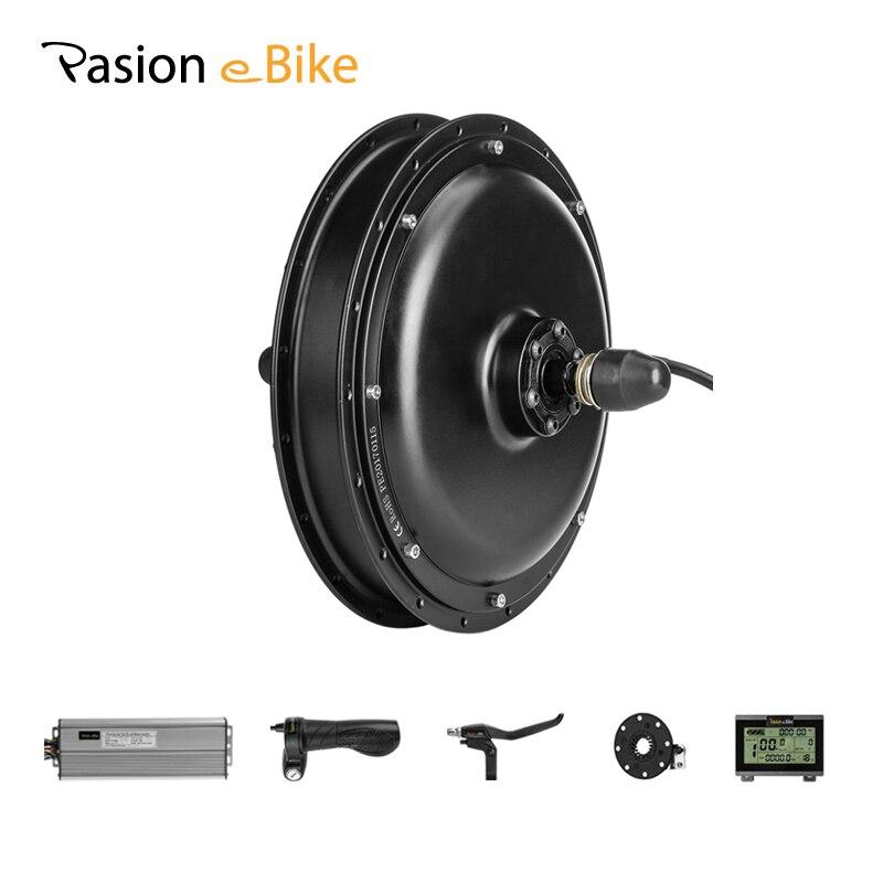 PASION Байк, способный преодолевать Броды 48 V 1500 Вт мотор для центрального движения Электрический заднее колесо велосипеда и подвесной мотор э