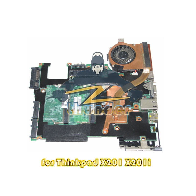 75Y4901 for lenovo X201i laptop motherboard U3400 QM57 GMA HD DDR3 цены