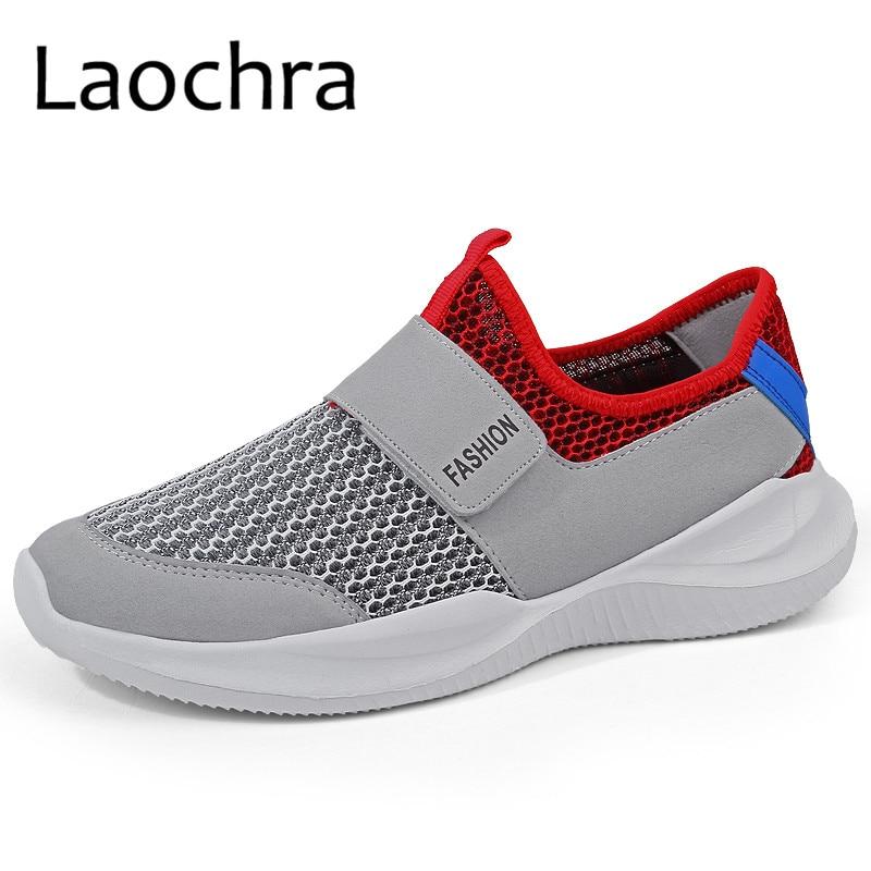 LAOCHRA Ανδρικά πάνινα παπούτσια πλεκτών - Ανδρικά υποδήματα - Φωτογραφία 1