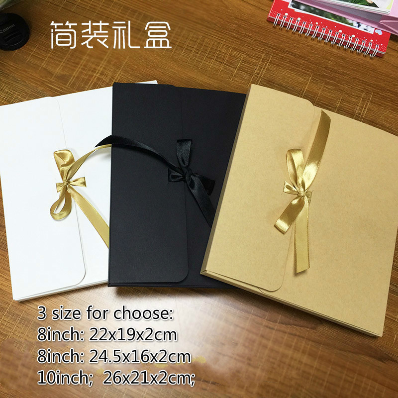 20pcs lot 8inch 10inch Size Kraft Paper Packaging Box Simple General Folding Cardpaper Box Simple Gift