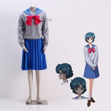 Athemis аниме сейлор мун ами мидзуно / сейлор кристалл косплей костюм на заказ школьная наряд